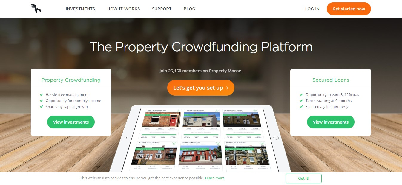 crowdfunding immobillier property moose